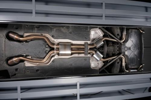 Milltek full exhaust system inc sports cats mercedes sl for Mercedes benz performance exhaust