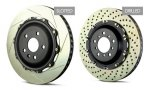 Brembo Rear 2 Piece Brake Disc Pair - Lexus RC-F
