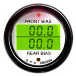 SPA Design Digital Dual Gauge - Brake Bias Front & Rear