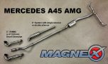 Magnex Cat Back Exhaust System - Mercedes Benz A45 AMG